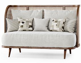 3D Two-seater garden sofa CV22
