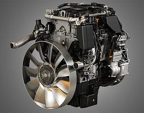 3D model OM934 Medium Duty Engine - 4 Cylinder Diesel
