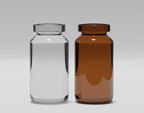 pharmacology Pill Bottles 3D