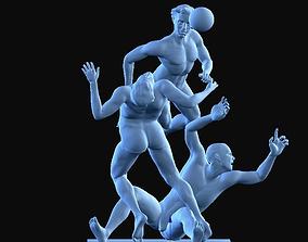 Soccer 3D printable model