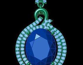 3D printable model TJO 13 Diamond Pendant