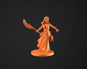 3D printable model Alice Zombiecide