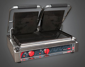 Double Sandwich Panini Press KTC - PBR Game Ready 3D asset