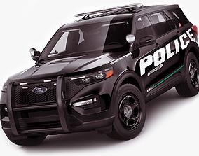 3D Explorer 2020 Police Interceptor