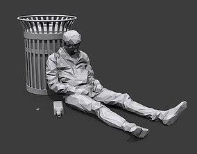 Drunk 3D model