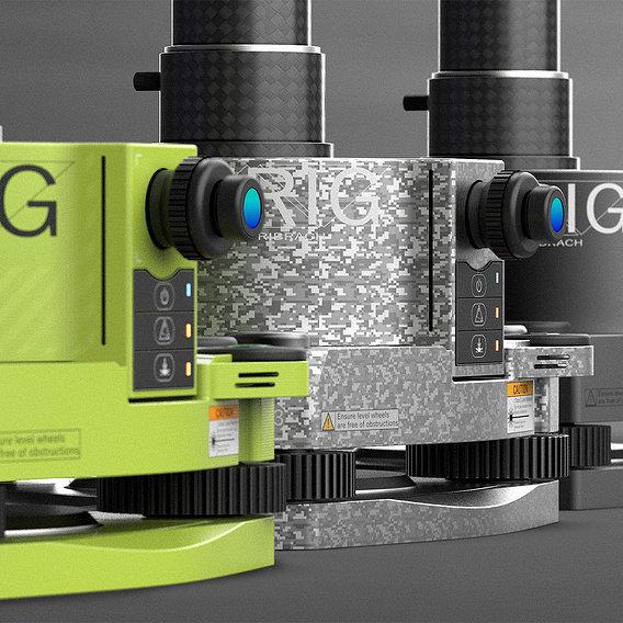 Survey Equipment Concept - Industrial Design