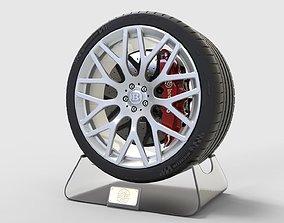 Brabus Monoblock Y and Tire Michelin Pilot Super 3D model