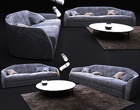 3D Sofa in modern style ALFRED