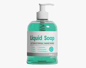 3D Liquid Soap care