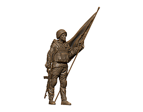 3D print model army Soldier