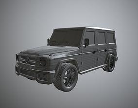3D asset Mercedes-Benz G-Class