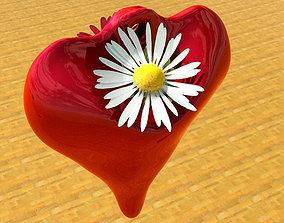 Hanging flower vase 3D print model
