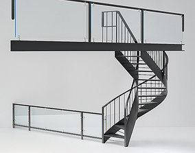 stairs to loft 3D