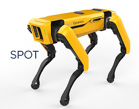 3D model Boston Dynamics Spot Yellow