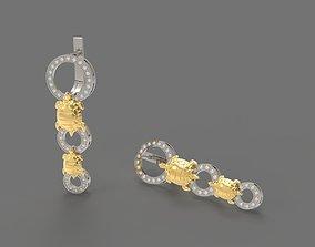 3D printable model Turtles Earrings