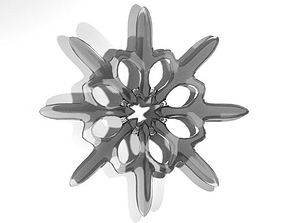 Snowflake - Type 6 3D model