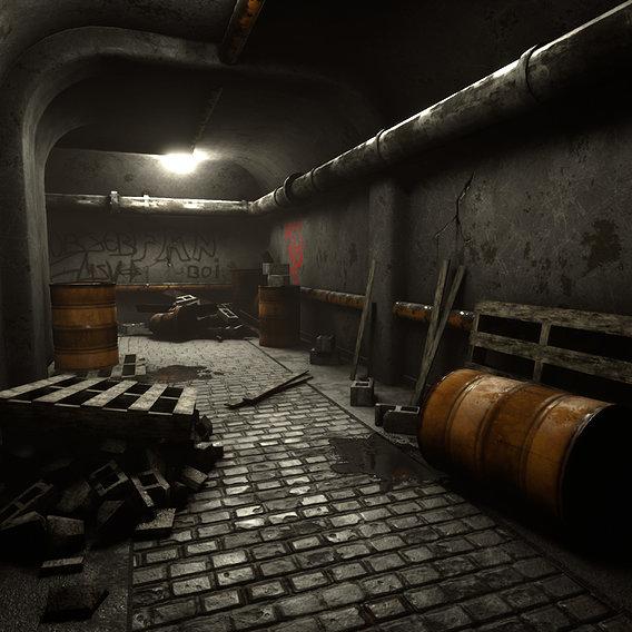 Realtime Concrete Tunnel