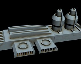 3D model Starship part 11
