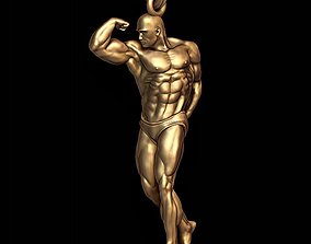 Bodybuilder pendant bodybuilder 3D print model