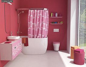 3D model Bathroom 07 Set