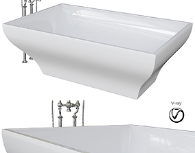 3D model LA BELLE Bath By Villeroy