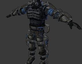 STALKER personage 3D model