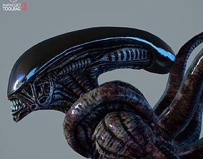 3D asset Alien Xenomorph