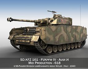 PzKpfw IV - Panzer 4 - Ausf H - 618 3D