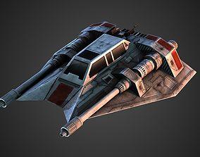 Rebel Snow Speeder 3D model