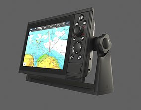 3D Marine GPS system - Simrad type