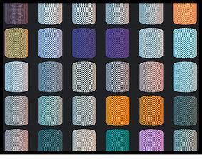 60 Variant UV Checker Pack 3D asset