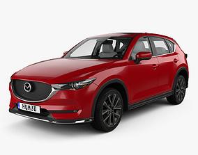 3D Mazda CX-5 KF with HQ interior 2017