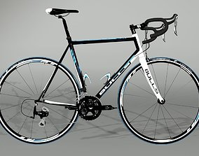 fit Road Bike 3D model
