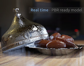 Oriental Dates Bowl 3D PBR