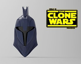 Senate Guard Clone Wars helmet STL file for 3d