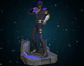 3D print model Ken Shiro Fist of the North Star Hokuto No