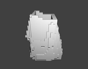 3D printable model Voxel Pencil Cup