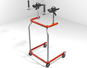 Walking Aids - Gait Trainers 3D model