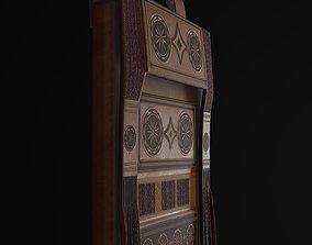 Berber medieval bag 3D model