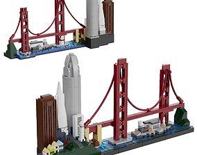 Lego Architecture Skyline - 21043 San Francisco 3D