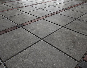 Paving slabs Floor 011 3D model
