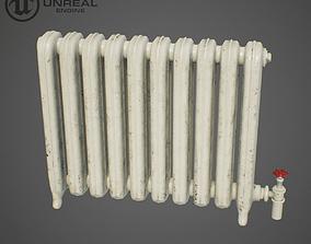 3D asset Old radiator