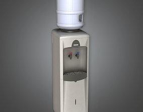 3D asset Standing Water Dispenser HPL - PBR Game Ready