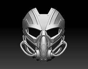 Kabal mask helmet for cosplay Mortal 3D printable model 2