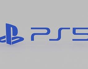 3D asset Playstation 5 Logo
