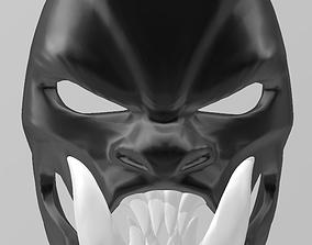 Samurai demon mask 3D printable model war