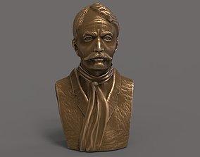 Emiliano Zapata Bust 3D print model