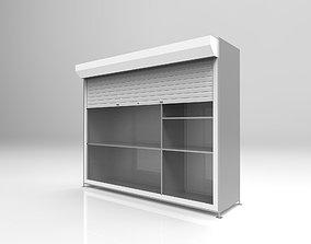 3D model Metal rack