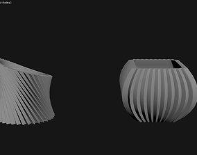 3D Printed Planter Plant Pot Plant Vase 107
