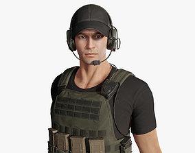 3D asset Army Man 02